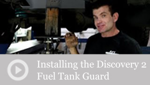 Installing the Discovery 2 Fuel Tank Guard