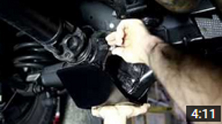 DIY Install Land Rover Defender (2002 onward) P38 Rear Diff Guard