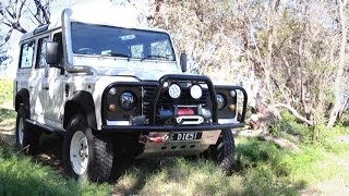 Defender APT Front Winch Bar
